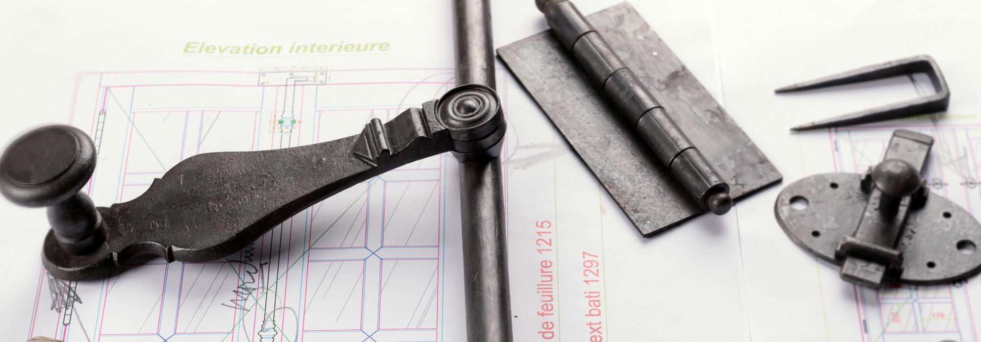 Fabrication sur-mesure quincaillerie et serrurerie ancienne